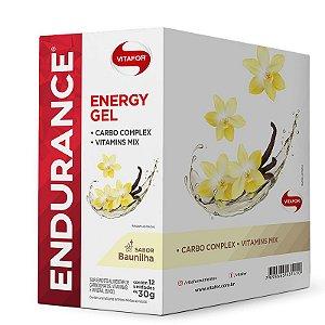 DUPLICADO - Endurance Energy Gel Vitafor Caixa 12 sachês Banana