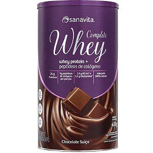 Complete Whey Protein da Sanavita 450g