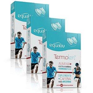 Kit 3 Termolen Cafeína Equaliv 62 cápsulas gelatinosas