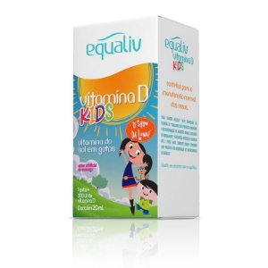 Vitamina D 200ui Kids Equaliv 20ml em Gotas