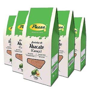 Kit 5 Farinha de Caroço de Abacate Pazze 150g