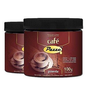 Kit 2 Café Instântaneo Café Pimenta Pazze 100g