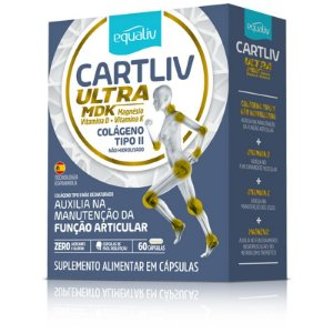 Cartiliv Ultra MDK Colageno Tipo 2 Equaliv 60 Cápsulas