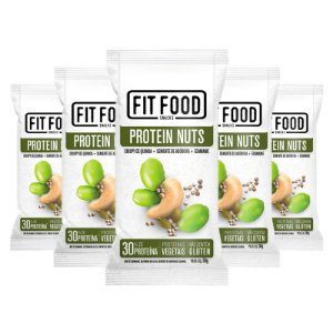 Kit 5 Snack Protein Nuts FIT FOOD 30g