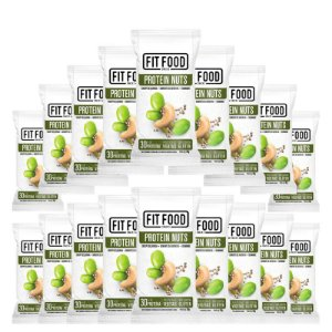 Kit 18 Snack Protein Nuts FIT FOOD 30g