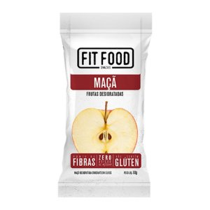 Maçã Snack Desidratada Fit Food 30g