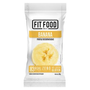 Banana Snack Desidratada Fit Food 30g