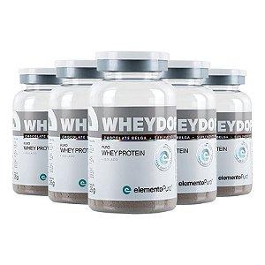 Kit 5 Wheydop ISO Whey Protein Monodose Elemento Puro 26g