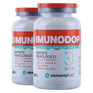 Kit 2 Imunodop Multivitaminico Elemento Puro 120 Cápsulas
