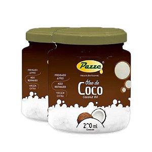 Kit 2 Óleo de Coco 200ml Pazze
