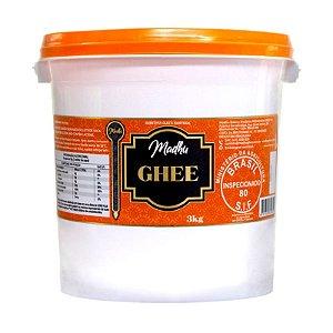Manteiga Ghee Madhu Tradicional 3kg