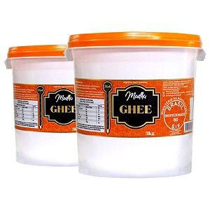 Kit 2 Manteiga Ghee Madhu Tradicional 3kg