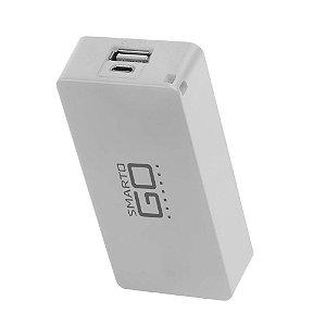 Bateria Portátil SMARTOGO 4000 MAH Branco - CB126