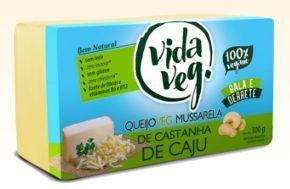 Queijo VEG Mussarela - Castanha de Caju  ( Fatiado ou Peça )