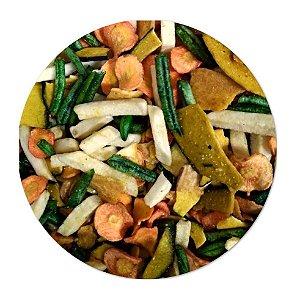Mix de Vegetais Desidratados - Granel ( R$13,00/100g )