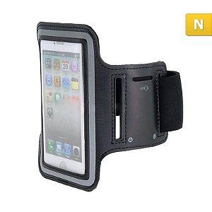 Braçadeira Esportiva para Iphone 4/4S Preta DOT-102B Driftin