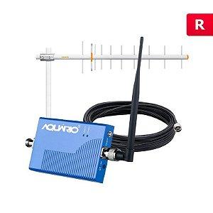 Mini repetidor Celular 900mhz 60db RP-960 Aquário