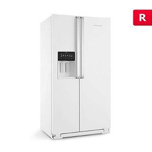 Refrigerador Brastemp Side by Side Ative! 560 Litros Branco 127V BRS62C