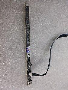 Placa Do Teclado Tv Samsung Pl43d490a1g      Novo
