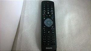 Controle Remoto Tv Philips Smart Original C/tecla Smart Novo