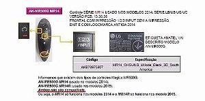 Controle Remoto An Mr 500 Lg (usado)      Usado