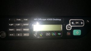 Painel Impressora Hp 4500