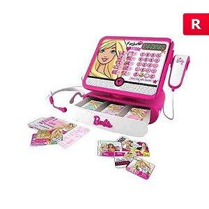 Caixa Registradora Da Barbie Com Cartão De Credito - Intek
