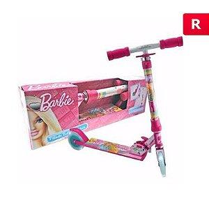 Patinete com Luz e Brilho Barbie Califórnia