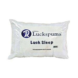 Travesseiro Luckspuma Flocos Luck Sleep 65x45x12