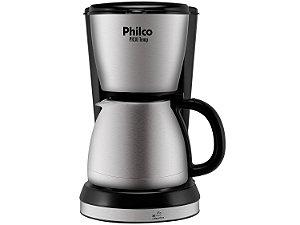Cafeteira Elétrica Philco PH30 1,5L Preto e Aço Escovado