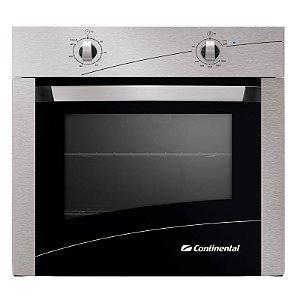 Forno de Embutir a Gás Continental FOGCT060E1B2IN com Grill e Timer  220V 66 Litros