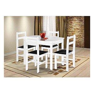 Mesa de Jantar com 4 Cadeiras Fritz Mille