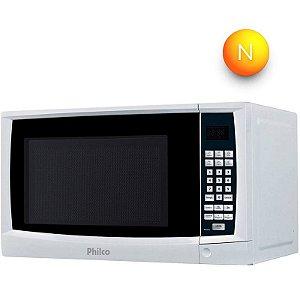Micro-ondas Philco PMS24 20 Litros com Tecla Kids Branco