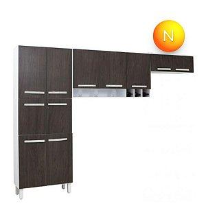 Cozinha Compacta Somopar Milena 3 Peças 11 Portas