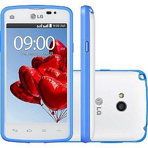 Smartphone Lg D227 L50 Sporty Tv Branco Azul E Rosa