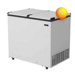 Freezer Horizontal Esmaltec EFH350 2 Portas 305 Litros Branco 127V