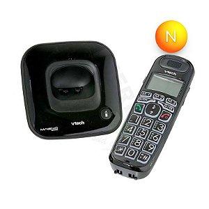 Telefone sem Fio Vtech Digital Magno 500 Preto ID Chamadas Viva-Voz