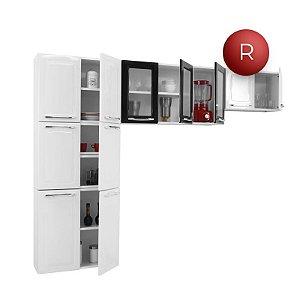 Cozinha Compacta Aço Itatiaia Criativa 3 Peças Branca