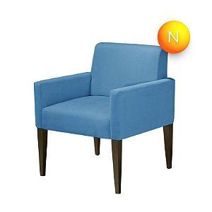 Poltrona Decorativa Mirela Azul American Comfort