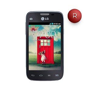 """Smartphone LG L40 Dual D175 Branco com Tela de 3,5"""", Dual Chip, Tv Digital, Android 4.4, Câmera 3MP, 3G, Wi-Fi, Rádio FM e Bluetooth"""