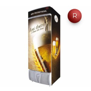 Cervejeira Freeart Seral Vertical 1 Porta Cega 470 Litros