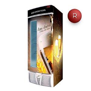 Cervejeira Freeart com Visor 570 litros EVFS C570CW
