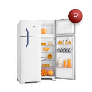 Refrigerador Electrolux Duplex 260L DC35A Branca 220V