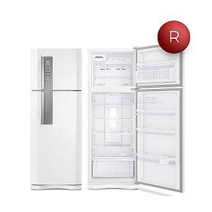 Refrigerador Electrolux Frost Free 459L com Prateleiras Retráteis DF54 220V Branca