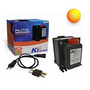 Transformador Bivolt 2000VA 110x220x110V KF