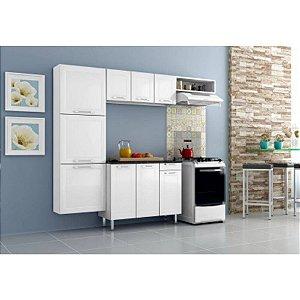Cozinha em Aço Casamob MIA 2 Peças Paneleiro Armário Aereo Branco 3 Peças