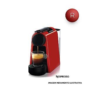 Cafeteira Nespresso Combo Essenza Mini Vermelho para Café Espresso