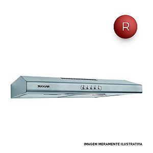 Depurador de Ar Slim 60cm Prata 127V Suggar DI61PR