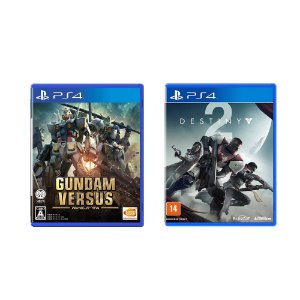 Kit Gamer - Gundam Versus + Destiny 2 - PS4