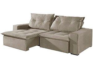 Sofá 4 Lugares Retrátil e Reclinável Caprice América - American Comfort